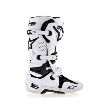 Alpinestars Tech 10 Boots - White / Black