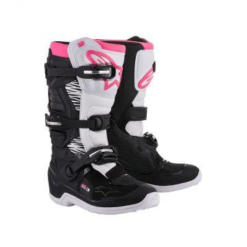 Alpinestars Tech 3 Stella - Black / White / Pink - 37