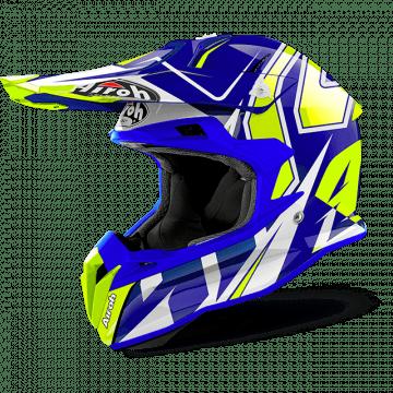 Airoh Terminator Open Vision Shock Blue- Helmet