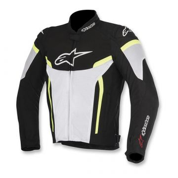 Alpinestars T-GP Plus R V2 Air Jacket - Black / White / Yellow