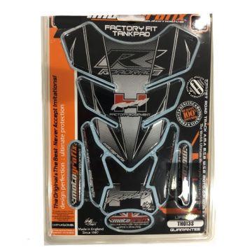 MOTOGRAFIX TH013S Tank Protector-Honda CBR RR 900 1000 -Silver/Black