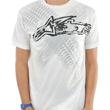 Alpinestars Tire TShirt - White