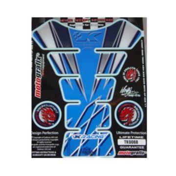 MOTOGRAFIX TK006B-TANK PROTECTOR-KAWASAKI--BLUE