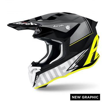 Airoh Twist 2.0 Tech Yellow Matt - Motocross Helmet