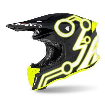 Airoh Twist 2.0 Neon Yellow Matt - Motocross Helmet