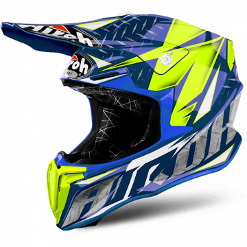 Airoh Twist Iron Blue Gloss Helmet