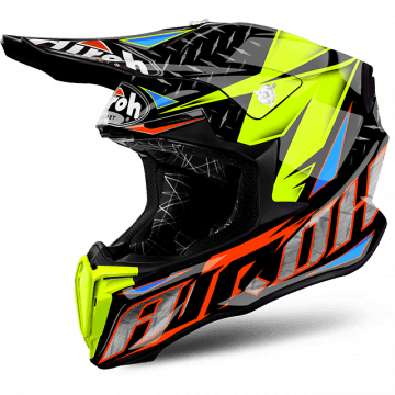 Airoh Twist Iron Orange Gloss Helmet