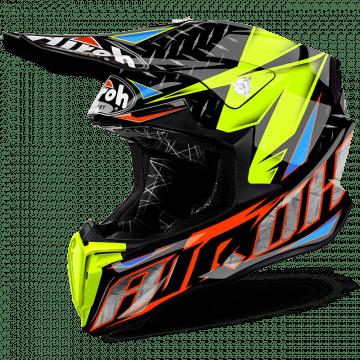 Airoh Twist Iron Orange Gloss Helmet