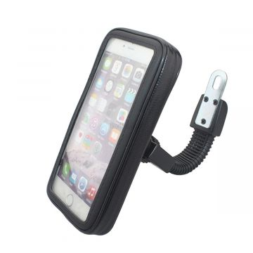 "Universal WaterProof Motorcycle Mount Case for 5.5"" - 6.2"" Phones"