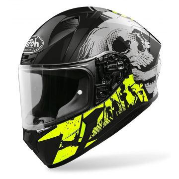 Airoh Valor - Akuna - Yellow Gloss Helmet