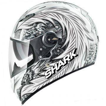Shark Vision-R MYTH Helmet - White/Silver