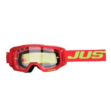 JUST1 - VITRO SOLID RED - YELLOW GOGGLE