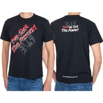 Yoshimura T-Shirt - BLACK-I've Got The Power!