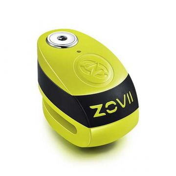 ZOVII - ZD10 - Loud 120 dB Alarmed Disk Lock with 10mm Steel Pin – Green