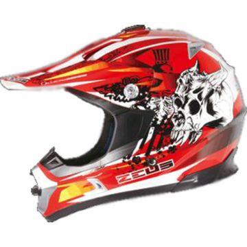 Zeus ZS-951 Helmet - Red
