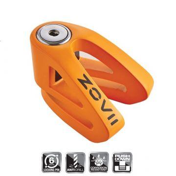 ZOVII - ZV6 - 6mm Push Down Disk Lock – Orange Fluo