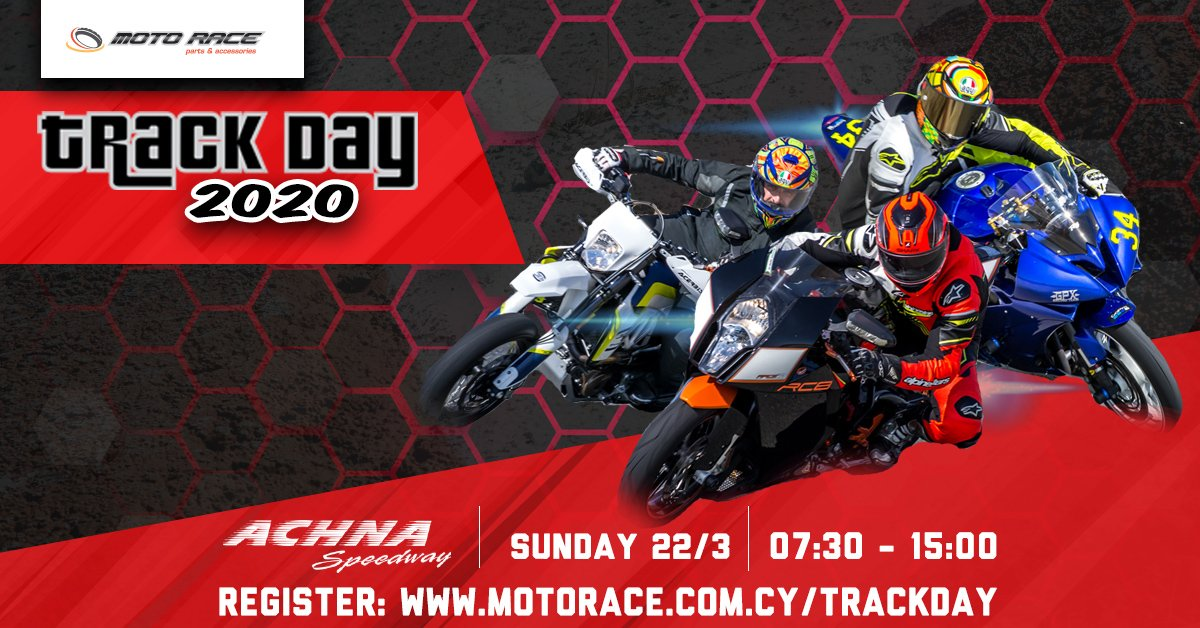 Motorace Track days are Back!