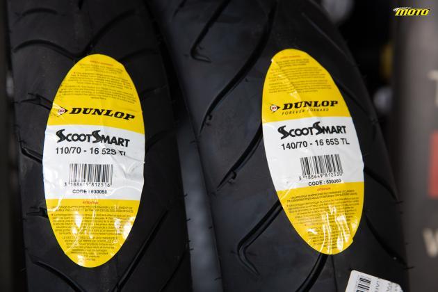 ΔΟΚΙΜΗ ΕΛΑΣΤΙΚΩΝ: Dunlop ScootSmart