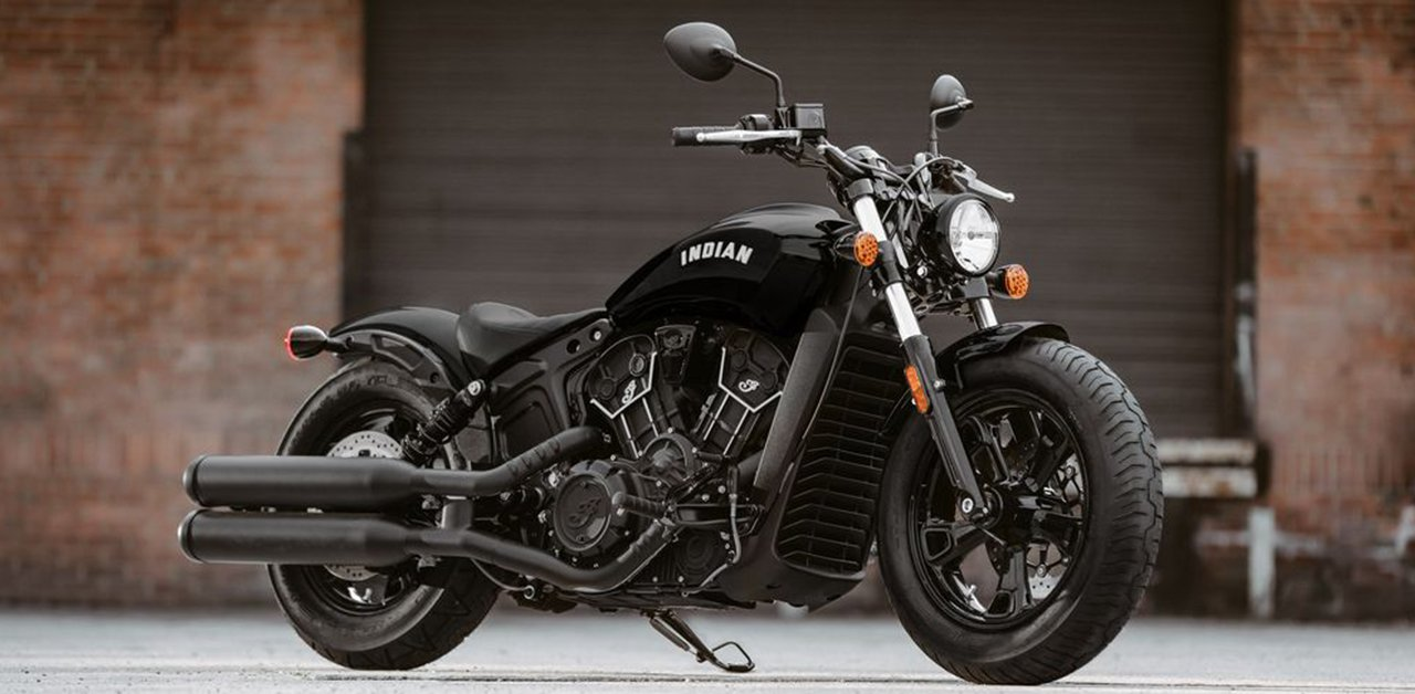 Minimalistic & Raw – the Lightweight Indian Scout Bobber Sixty Features Stripped-Down, Blacked-Out Styling, and a 60 Cubic-Inch, Liquid-Cooled Engine