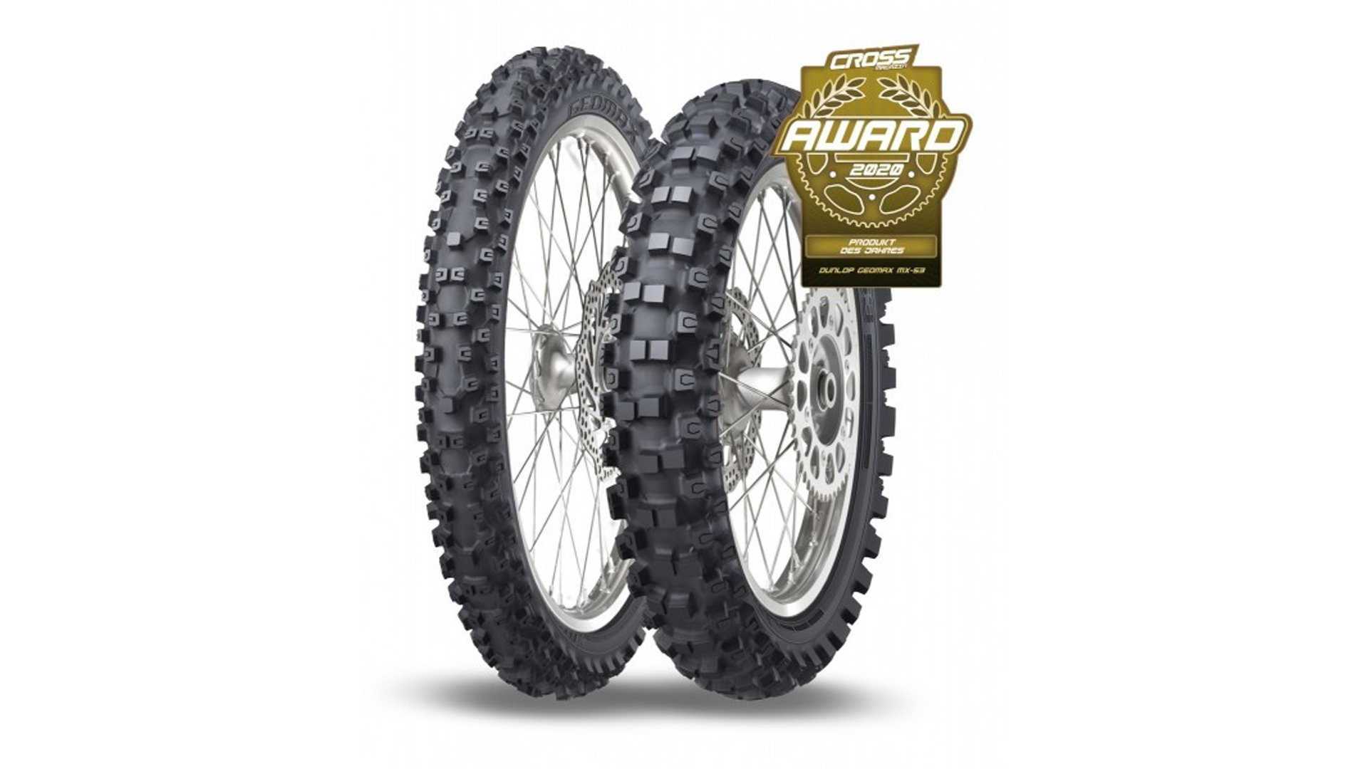 Dunlop Geomax MX53 named CROSS Magazin 'Product of the Year'